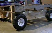 Houten pallet cyclus Cam Trolly voorzien DIY mobiele Pallet wagen