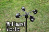 Wind aangedreven muziekdoos