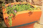 CRT naar Planter Upcycle: Inleiding & materialen