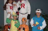 Team Rocket, Meowth, Oshawott, Snivy en Charmander