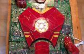 IJzeren Man Mixed-Media gebrandschilderd glas Computer Component mozaïek