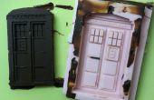 TARDIS chocolade schimmel