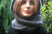 HOODIE sjaal IN 5 minuten uit een oude trui