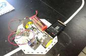 Lijn volgeling Robot met behulp van Camera Shield in 1Sheeld & Arduino