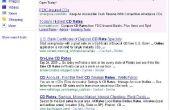 Google Search Engine alternerende actie