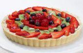 Hoe maak je een Fruit Tart - eenvoudig recept