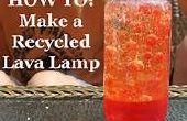 How To Make A gerecycleerd lavalamp!