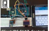 ESP8266 + Arduino + Oled (clientbesturingselement IRC Chat) deel 1