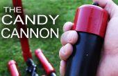 Make It Rain Down chocolade! Voor echt!  Hier is hoe te maken van je eigen pneumatische kanon van de Candy!