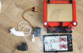Telecran (Etch een Sketch) + Arduino = Telecranduino!