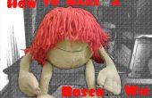 Hoe maak je een pruik Bosco