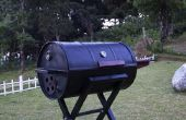 Draagbare Barrel BBQ Grill