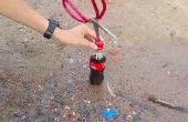 Hoe maak je een raket vanaf Coca cola met prospane