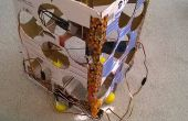 De vliegende Gyro gestabiliseerde VTOL karton Box