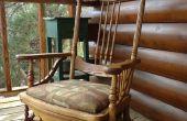 Restauratie: 1878 Platform zweefvliegtuig schommelstoel