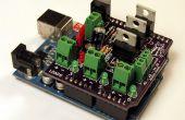 Gebouw en met behulp van een MOSFET Arduino Shield