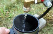 Kamp Warmwaterboiler met een makkelijk te gebruiken toedieningseenheden functie