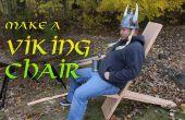 Make a Viking stoel met handgereedschap!