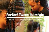 Hoe te doen van het perfecte kapsel voor Tween Girls