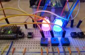 Kleur kalibreren RGB LEDs met een Arduino
