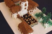 Bouw - Mission Santa Cruz, Mt. McKinley & steen groeve cake