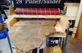 Maken van een 28 inch breed Sander/Planer