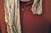 Gestikt garen Multi-Color Winter sjaal