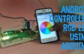 Android Controlled RGB LED met behulp van Arduino