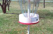 Een grote Build-at-home Disc Golf Target (of een betere benutting voor 55-gal drums!)