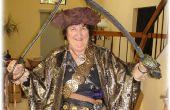 Hoe samen te stellen een ontzagwekkende piraat kostuum voor Halloween!