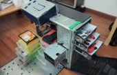 PC aan draagbare workstation/werkset