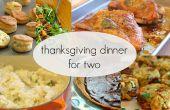Thanksgiving diner voor twee