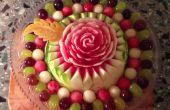 Hoe maak je een watermeloen Rose