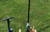 Perslucht Launcher en herbruikbare raketten