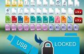Hoe beschermt uw dossiers binnen uw USB-drive?
