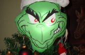 Grinch christmas Tree Topper