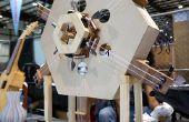 De Hexachord, een muziekinstrument Arduino-gecontroleerde