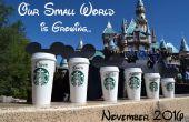 Disney / Starbucks zwangerschap aankondiging