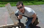 Het eerste project van de eerlijke DIY pallet op het internet