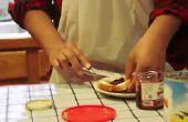 Hoe maak je een PB & Jalapeno jam Sandwich