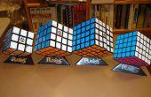 Hoe op te lossen een 5 × 5 Rubik's cube van de Professor