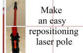 Maken van een eenvoudig herpositionering laser pool