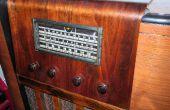 Restauratie - nieuw leven uit de conversie van een kapotte jaren 1930 radio