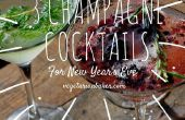 How to Make 3 Champagne Cocktails voor New Year's Eve
