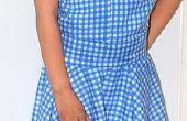 Wizard of Oz (mijn versie Outfit). Dorothy Gale jurk.