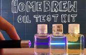 DIY olie vervuiling testen