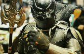"Hoe maak je een wonder: ""Black Panther"" kostuum"