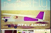 DIY afstandsbediening vliegtuig (23 cc Gas aangedreven)