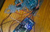 Een robotarm met behulp van de Arduino te beheersen, 1Sheeld en een Android Smart Phone