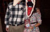 Adam en Barbara Maitland kostuums uit BeetleJuice!